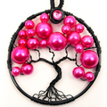 Tree of Life Hot Pink Bubble Tree