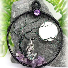 Tree of Life Mermaid with Amethyst