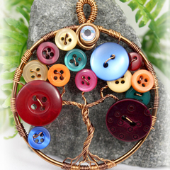 Tree of Life Button Tree