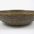PERSONALISED Handwoven Pine Needle Spiritual Healing Basket  (Med ~ LargeSimple)