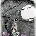 Tree of Life Mermaid with Amethyst