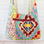 Shiralee Serape Sling Bag, Crossbody Hobo Bag