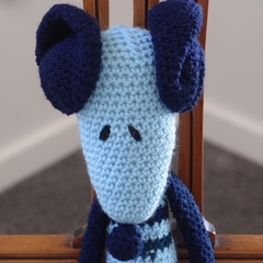 Maurice the house mouse:  OOAK, washable, crochet