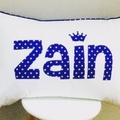 Personalised Name Pillow Cushion -slim font