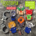 Zootopia Finger Puppet Set