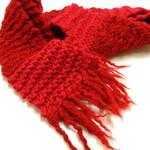 Red Woollen Scarf