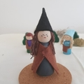 "Wooden peg dolls."" Hansel amd Gretel"""