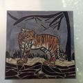 Mosaic Tiger Box