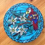 Mosaic Bird in paradise