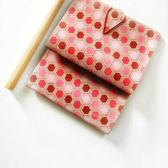 Pocket Notebooks {2} Mid-Size Pink Red | Gift under 10 | Mothers Day Gift