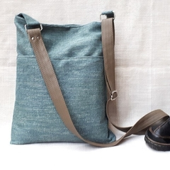 Upholstery fabric hobo slouch bucket bag