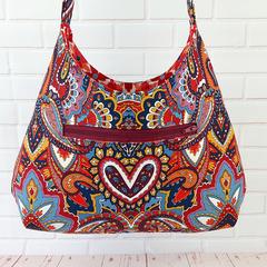 Crossbody Shoulder Bag, Indian Summer Women's Handbag
