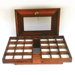 Mens cufflinks /tie pin  jewellery box