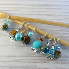Cowgirl Perfume/ Potion Bottle Stitch Markers