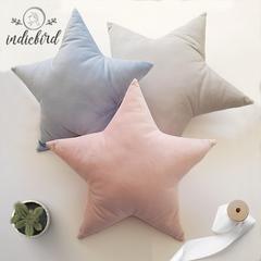 Star Pillow, Velvet star cushion.