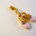 Ballerina Shoes Stitch Markers