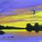 Original Painting 'River Dusk'