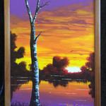 Original Painting 'Last Light'