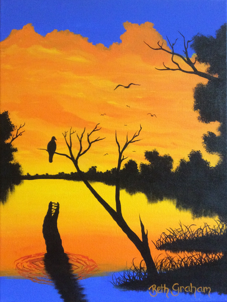 Original Painting 'Leap Of Faith II'