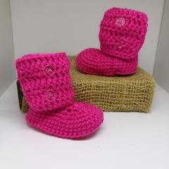 Hot Pink Little Boots
