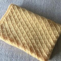 Baby Bassinet or Pram Blanket.