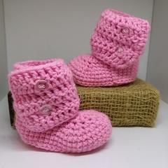 Pink Little Boots