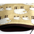 Little Coin Purse in Sheep Fabric