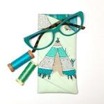 TeePee Fabric Glasses/Sunnies Case