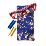 Cherry Blossom Fabric Glasses/Sunnies Case