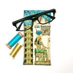 Egyptian Fabric Glasses/Sunnies Case