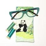 Panda Fabric Glasses/Sunnies Case