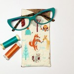 Forest Animals Fabric Glasses/Sunnies Case