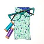 Teardrop Fabric Glasses/Sunnies Case
