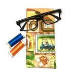 Golf Fabric Glasses/Sunnies Case