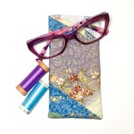 Asian Floral Fabric Glasses/Sunnies Case