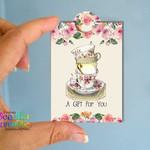 Printable Tea Bag Gift - Friendship Mini Tags - Tea Bag Gift Tags