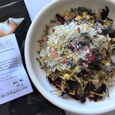 Tub Tea Bath Soak Salts (2 bath pk) with Lavender & Chamomile