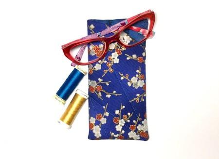 Cherry Blossom Fabric Glasses/Sunnies Case
