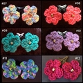 Flower Hair Clips (pair)