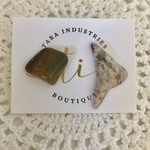 Asymmetrical Gemstone Earrings