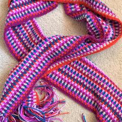 1 x Handmade crochet Scarf  choose from 4 designs