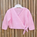 Crocheted ballet cardigan Size 00
