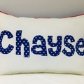 Personalised Name Pillow Cushion
