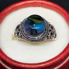 Colourful Fused Glass Ring