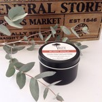 BLACK TIN CANDLES - Beeswax - Travel Tins
