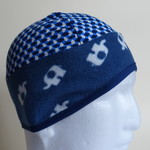 Beanie: lycra/fleece for skiing, cycling or walking, sunprotection, unisex
