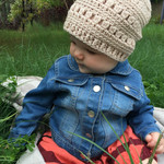 One for Everyone Beanie Crochet Pattern - Toddler