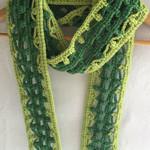 Simplicity in Clusters Scarf Crochet Pattern