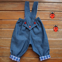 Baby Boy Overalls, Boys overalls, Baby boys denim overalls size 1 only