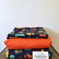 Handmade Queen Bed Sets Pillowcases, Quilt/Donna Cover, Fitted sheet 100% Cotton